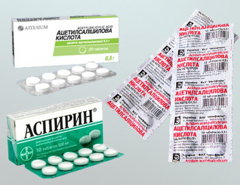 Аспирин для лечения перхоти