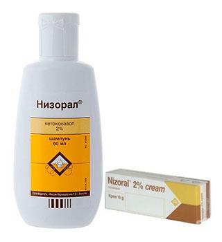Шампунь от перхоти Низорал с Кетоконазолом